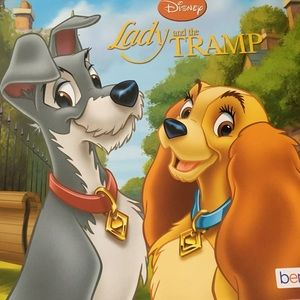Lady and tramp book ⭐️